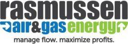 rasmussen air and gas energy logo