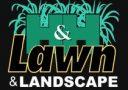 H&H lawn landscaping logo
