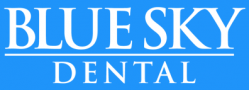 blue sky dental logo