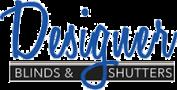 designer blinds and shutters logo
