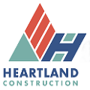 heartland construction logo