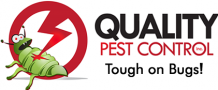 quality pest logo