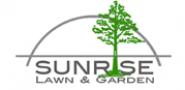 sunrise lawn and garden logo
